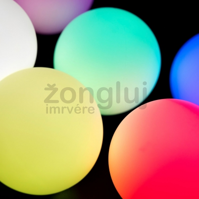 Glow ball PLAY multicolor 70mm